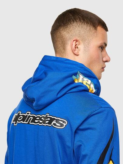 Diesel - ASTARS-T-JUSTOOD, Bleu - T-Shirts - Image 3