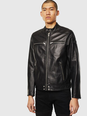 L-BOY, Noir - Vestes de cuir