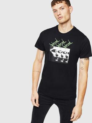 T-DIEGO-J12, Noir - T-Shirts