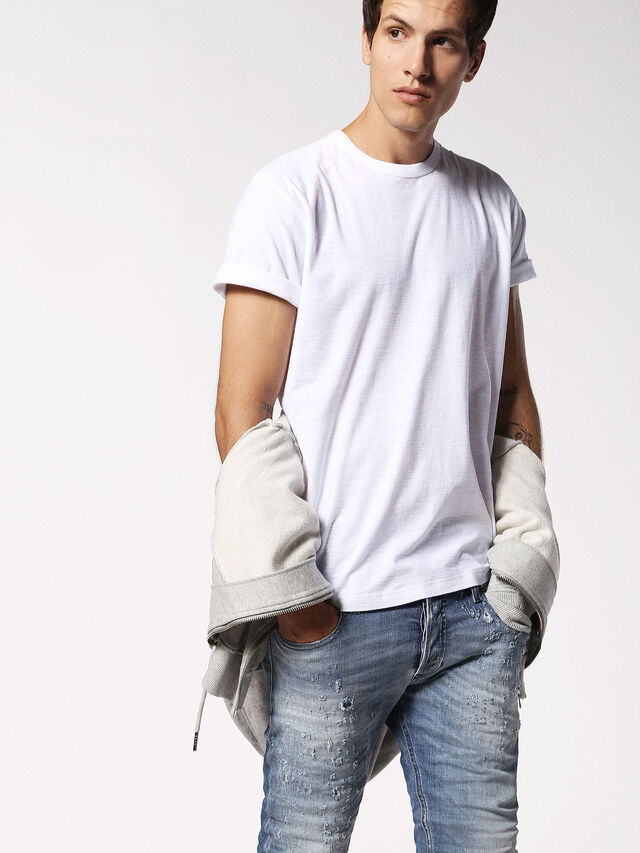 Diesel - T-TERRENCE, Blanc - T-Shirts - Image 3
