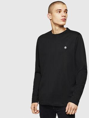 T-JUSTY-LS, Noir - T-Shirts