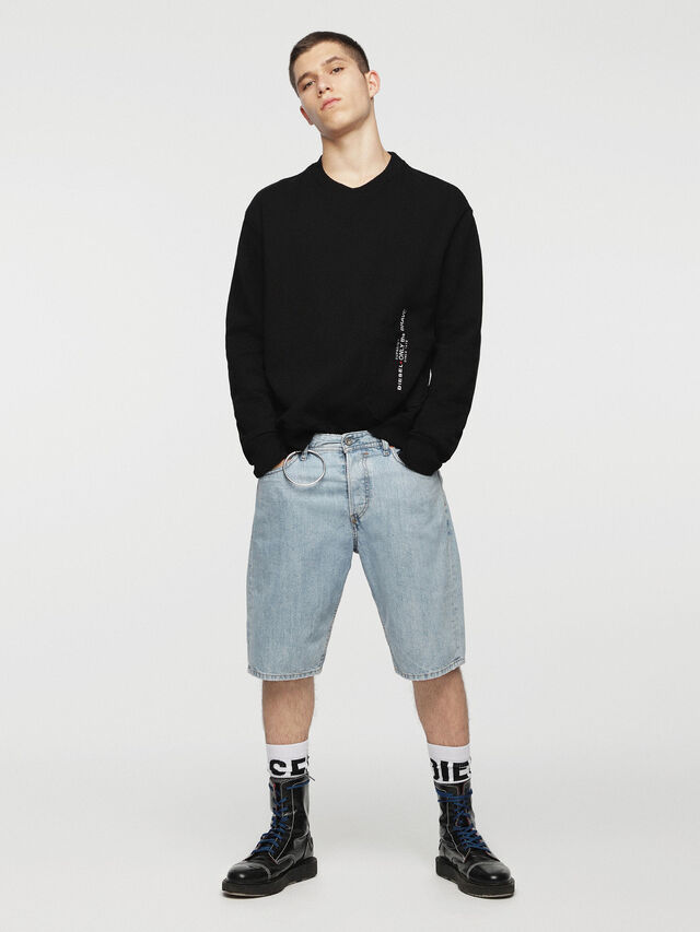 Diesel - KEESHORT, Bleu Clair - Shorts - Image 4