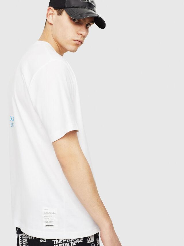 Diesel - T-JUST-Y23, Blanc - T-Shirts - Image 3
