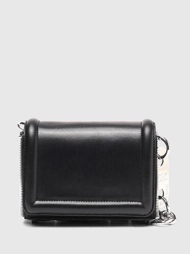 Petit sac à bandoulière en cuir zippé
