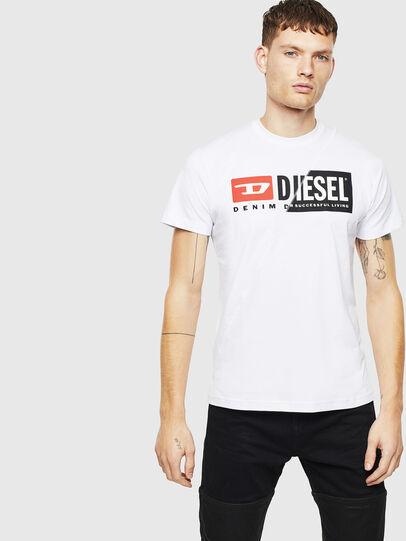 Diesel - T-DIEGO-CUTY, Blanc - T-Shirts - Image 1