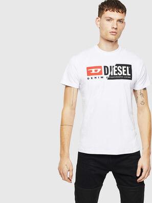 T-DIEGO-CUTY, Blanc - T-Shirts