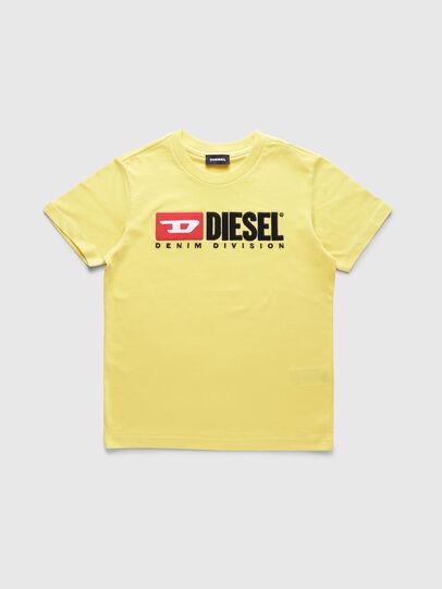 Diesel - TJUSTDIVISION, Jaune - T-shirts et Hauts - Image 1