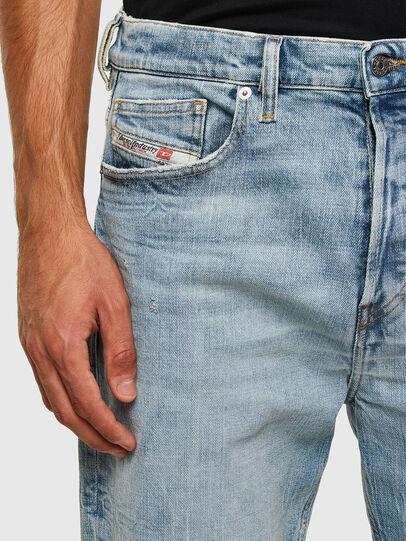 Diesel - D-Vider 009JR, Bleu Clair - Jeans - Image 4