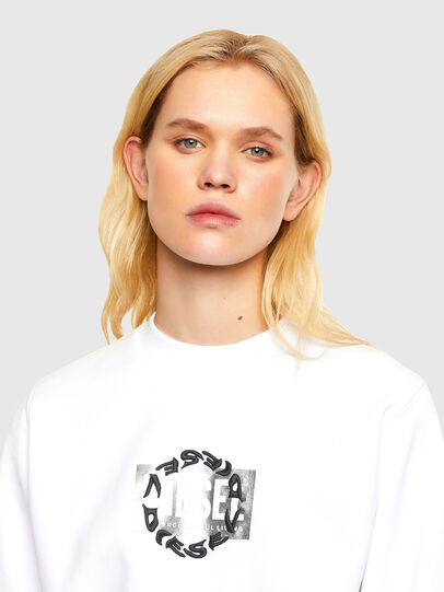 Diesel - F-ANG-R30, Blanc - Pull Cotton - Image 3