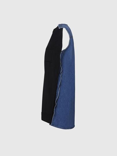 Diesel - M-BYRNE, Noir/Bleu - Robes - Image 3