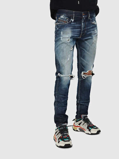 Diesel - D-Strukt 084AD, Bleu moyen - Jeans - Image 1