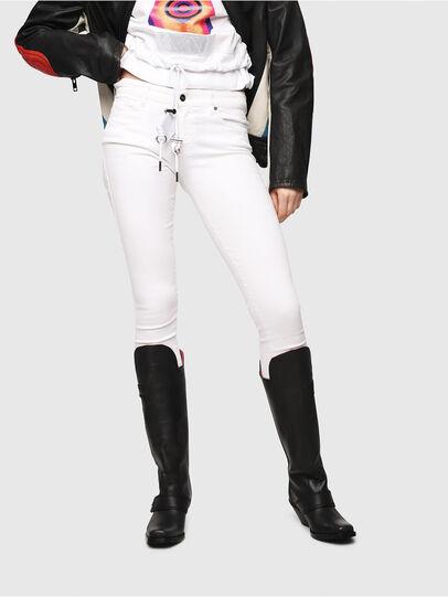 Diesel - Slandy 086AC, Blanc - Jeans - Image 1