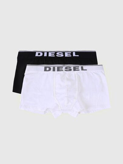Diesel - UMBX-DAMIENTWOPACK, Noir/Blanc - Boxeurs courts - Image 1