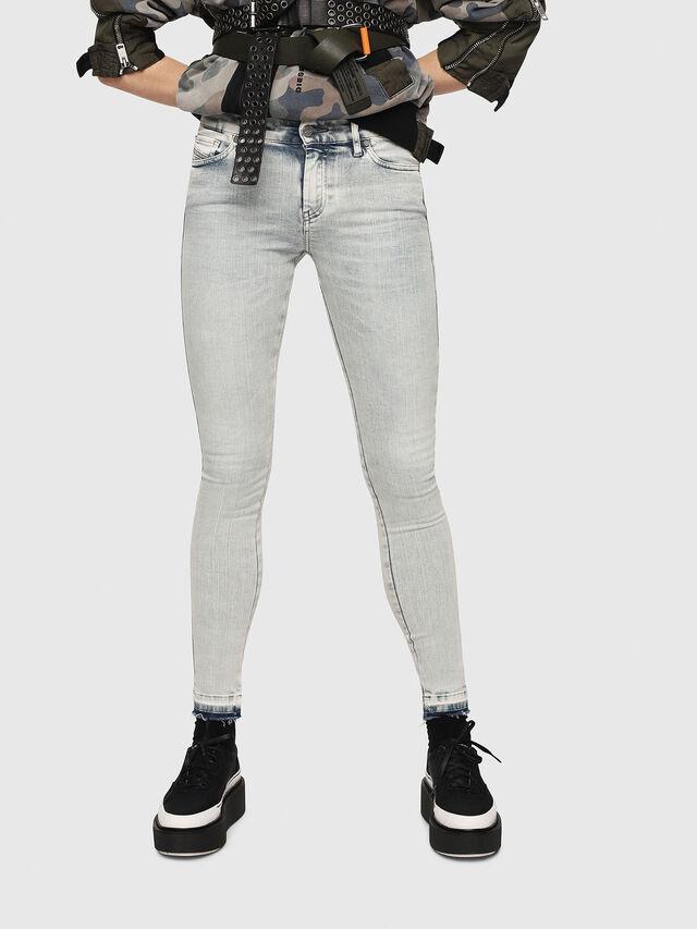 Diesel - Slandy 086AF, Bleu Clair - Jeans - Image 1