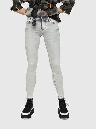 Slandy 086AF, Bleu Clair - Jeans
