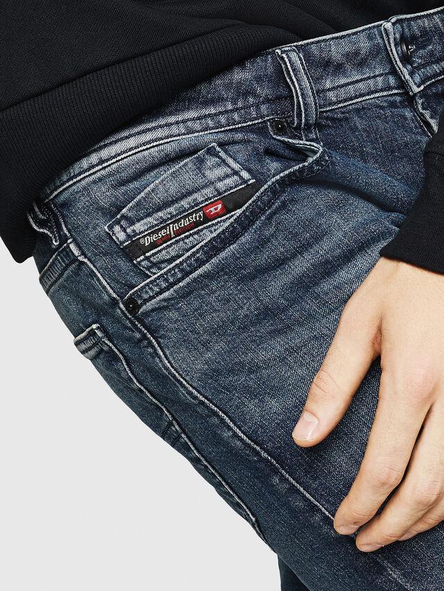 Diesel - Buster 084AS, Bleu Foncé - Jeans - Image 3