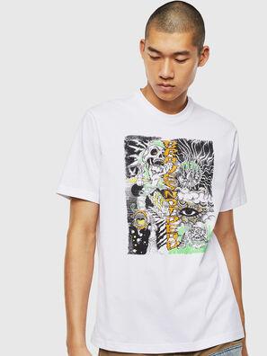 T-JUST-J13, Blanc - T-Shirts