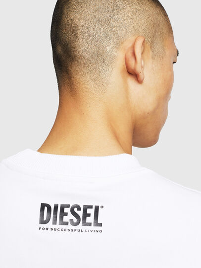 Diesel - S-LINK-MOHAWK, Blanc - Pull Cotton - Image 5