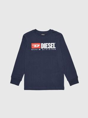 TJUSTDIVISION ML, Bleu Foncé - T-shirts et Hauts