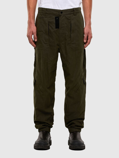 Diesel - P-JARROD, Vert Militaire - Pantalons - Image 1