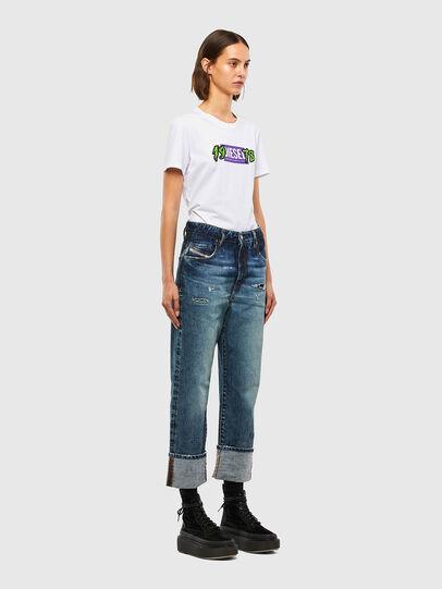 Diesel - T-SILY-K4, Blanc - T-Shirts - Image 4