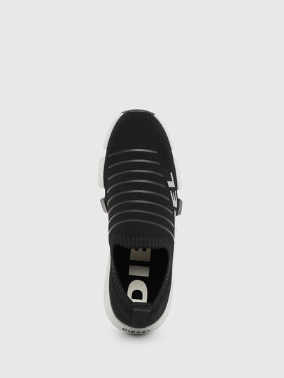 Diesel - H-PADOLA LOW SOCK, Noir - Baskets - Image 5