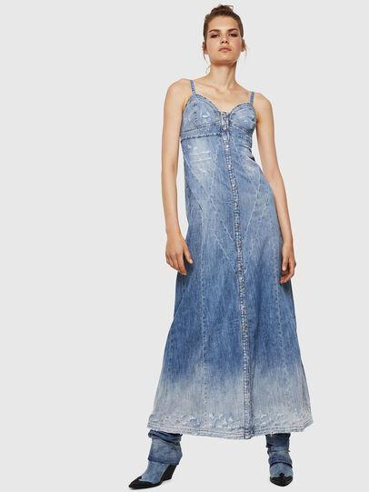 Diesel - DE-ARIN, Bleu Clair - Robes - Image 1