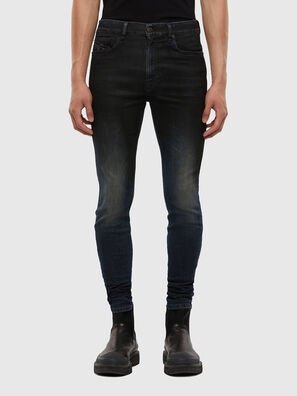 D-Amny 069QM, Bleu Foncé - Jeans