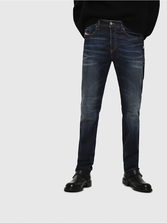 Diesel - Buster 069AH, Bleu Foncé - Jeans - Image 1