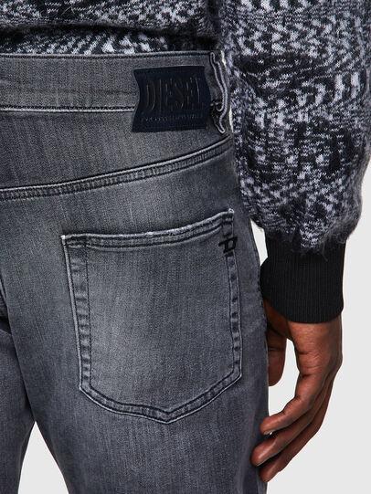 Diesel - D-Strukt JoggJeans® 009QT, Noir/Gris foncé - Jeans - Image 3