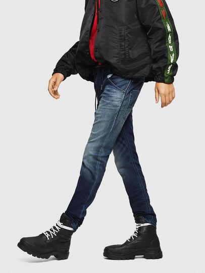 Diesel - Krooley JoggJeans 069HH, Bleu Foncé - Jeans - Image 4