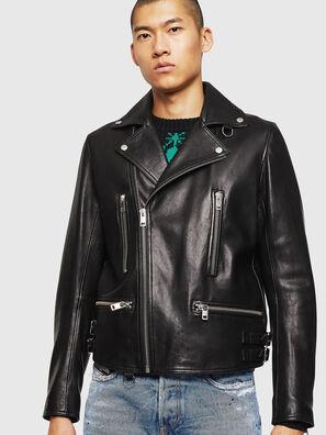 L-GOTIV, Noir - Vestes de cuir