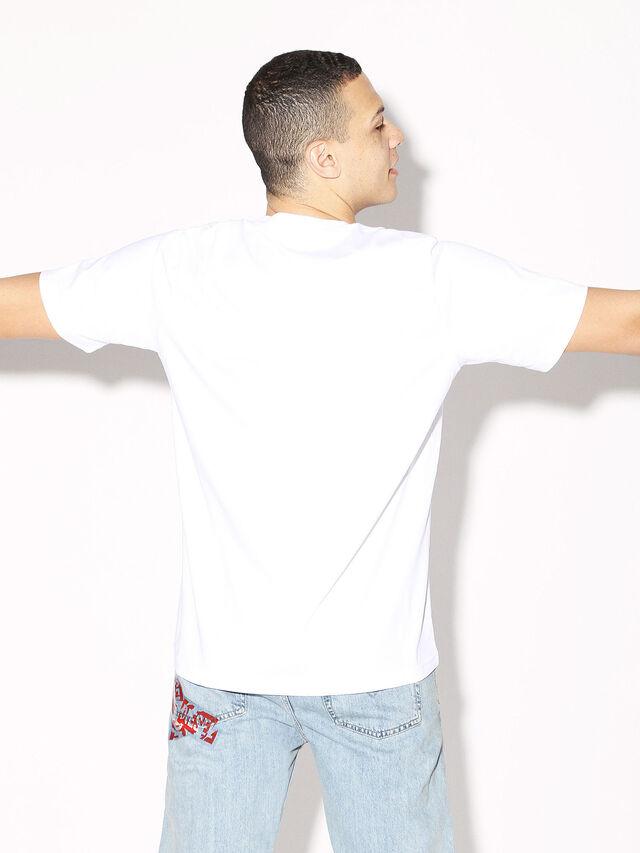 Diesel - DEIS-JUST, Blanc - T-Shirts - Image 5