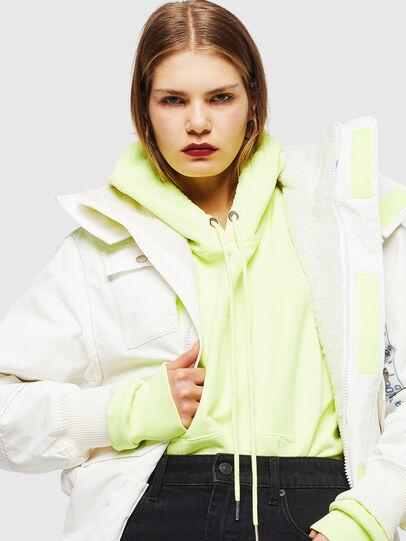 Diesel - W-OKSO, Blanc - Vestes d'hiver - Image 5