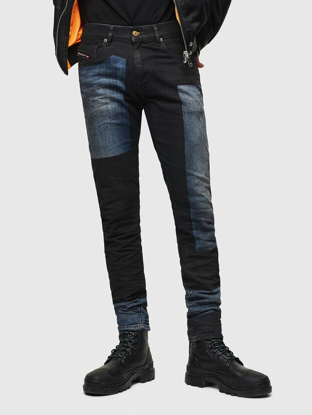 D-Strukt 0094K, Bleu Foncé - Jeans