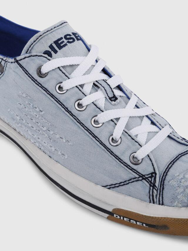 Diesel - EXPOSURE LOW I, Bleu Clair - Baskets - Image 4
