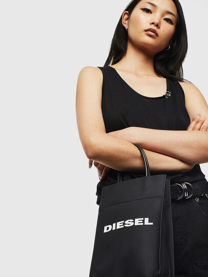 Diesel - SAKETTINO, Noir - Cabas et Sacs d'Épaule - Image 6