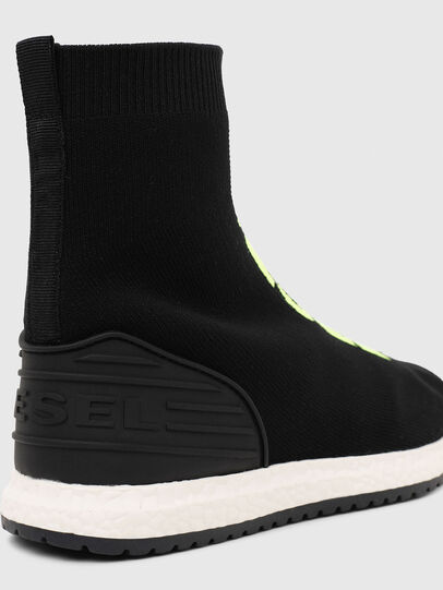 Diesel - SLIP ON 04 MID SOCK, Noir - Footwear - Image 5