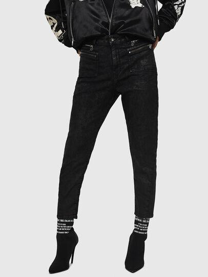 Diesel - D-Eifault JoggJeans 084AG, Noir/Gris foncé - Jeans - Image 1