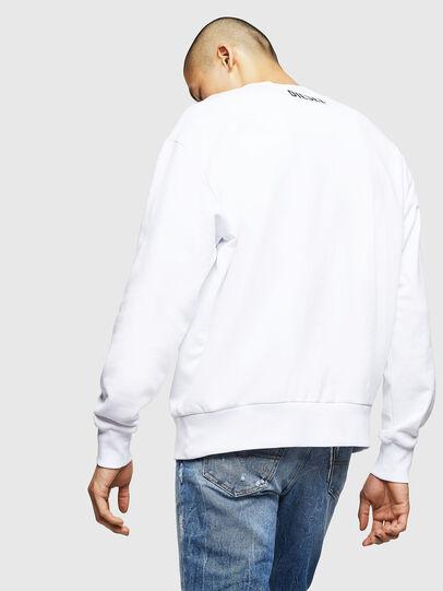 Diesel - S-BAY-BX4, Blanc - Pull Cotton - Image 2