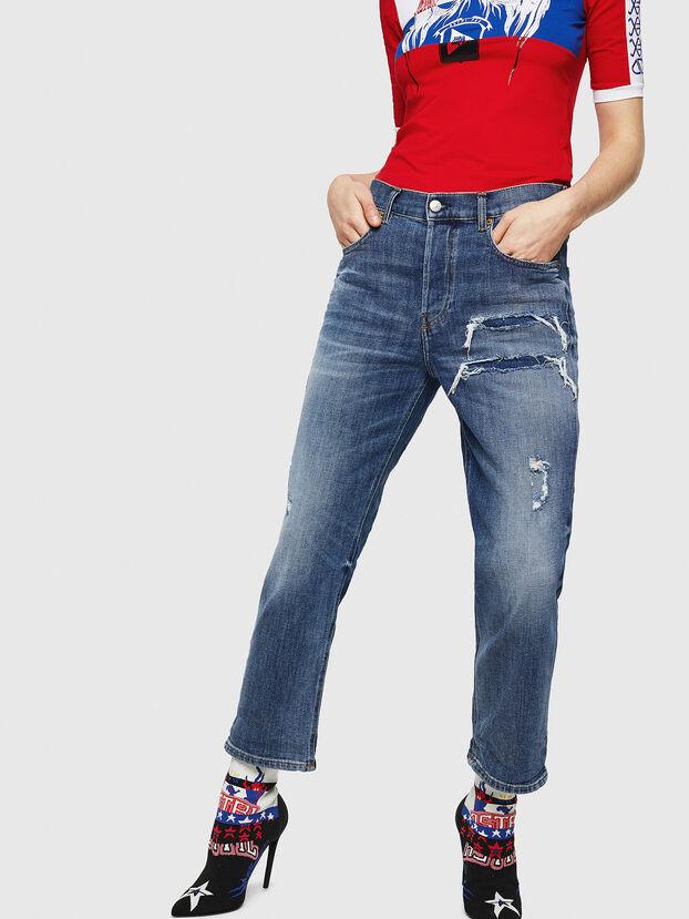 Aryel 0890X, Bleu moyen - Jeans