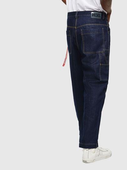 Diesel - CC-D-FRANK, Bleu Foncé - Pantalons - Image 4