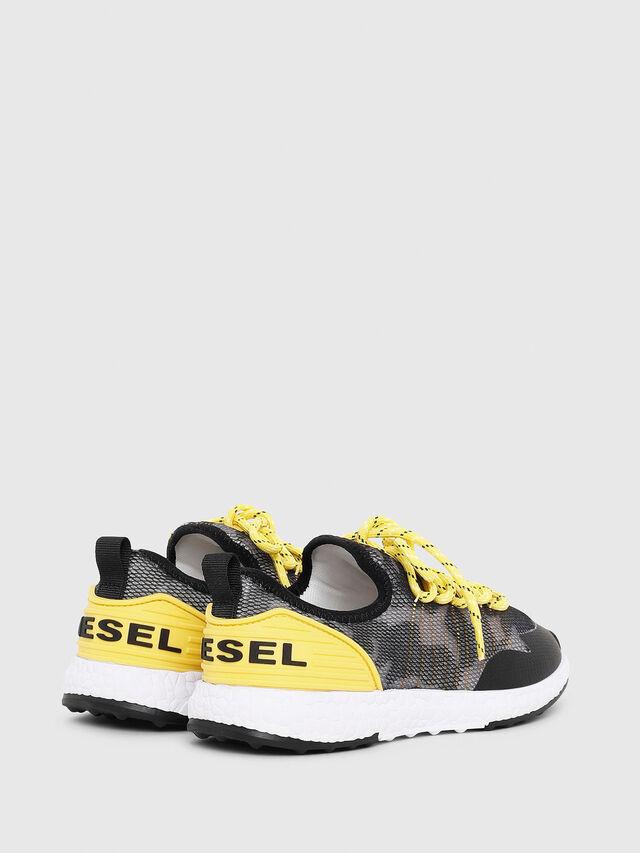 Diesel - SN LOW 10 S-K YO, Gris/Noir - Footwear - Image 3