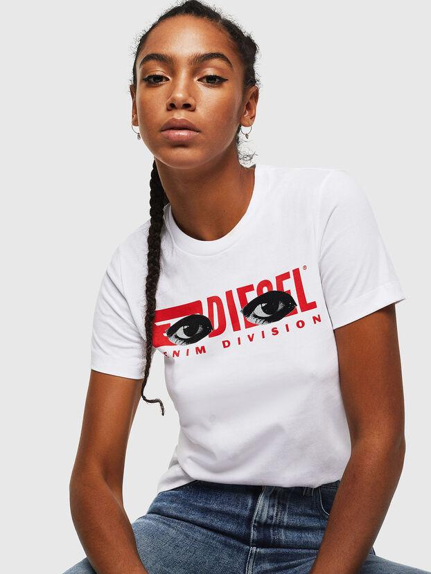 T-SILY-YD, Blanc - T-Shirts