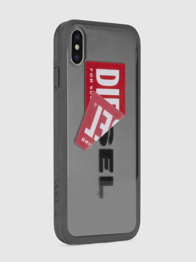 Diesel - STICKER IPHONE X CASE, Noir - Coques - Image 4
