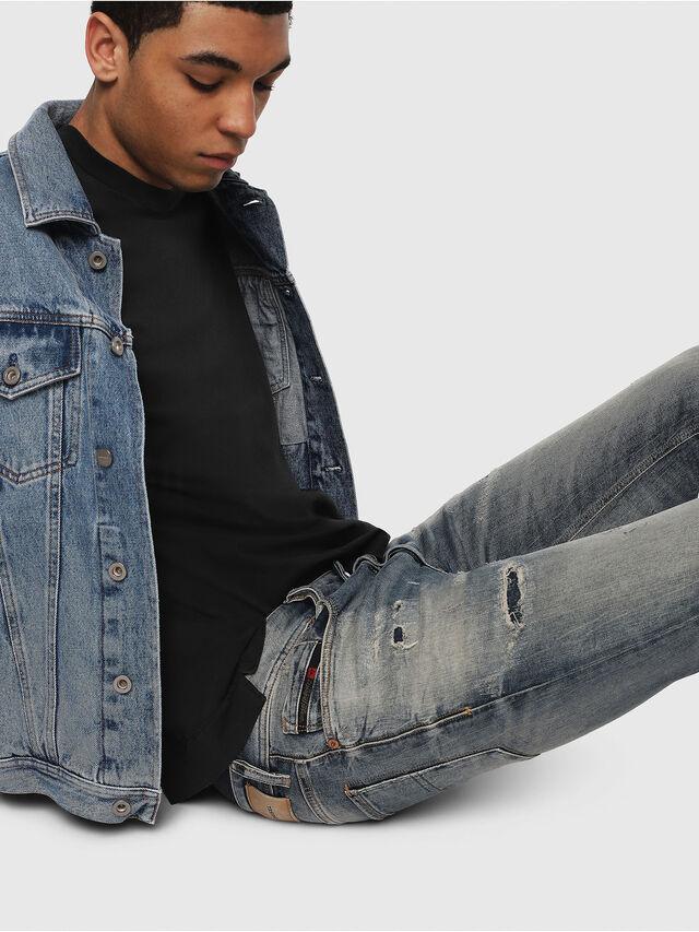 Diesel - Sleenker 069DK, Bleu moyen - Jeans - Image 5