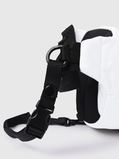 Diesel - F-URBHANITY BUMBAG, Blanc - Sacs ceinture - Image 6