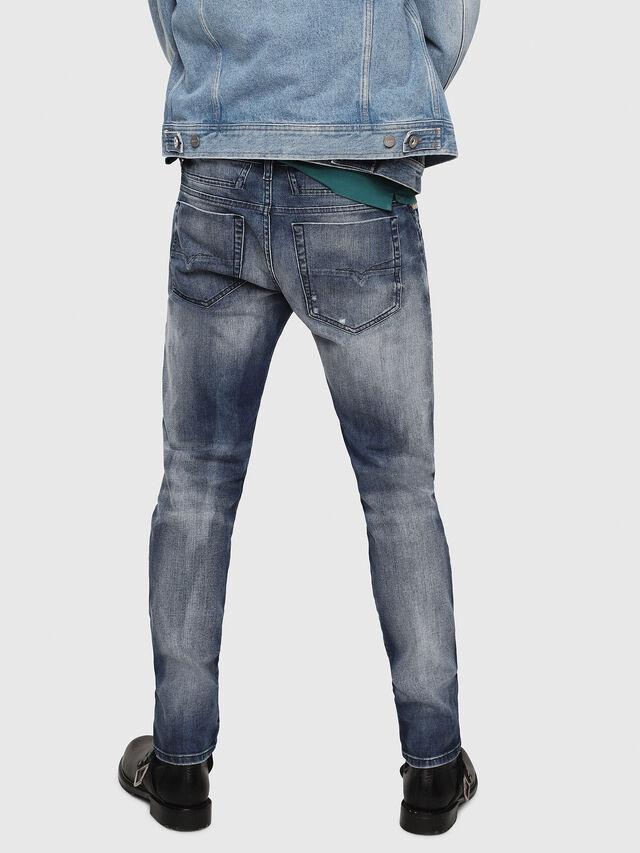 Diesel - D-Bazer 084DD, Bleu Foncé - Jeans - Image 2