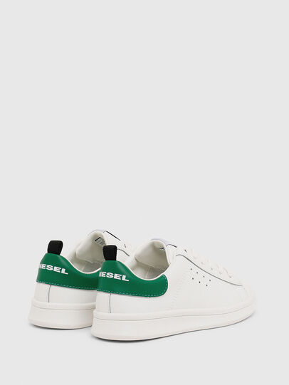 Diesel - SN LOW LACE 11 FULL, Blanc/Vert - Footwear - Image 3