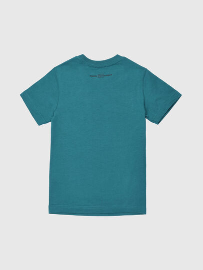 Diesel - TSILYWG, Vert d'Eau - T-shirts et Hauts - Image 2